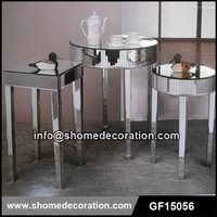 Mirror Living Room Furniture Design Coffee Table Tea Table
