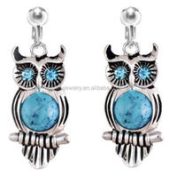 Owl Clip On Earring china factory