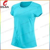Solid color women t shirt summer clothing