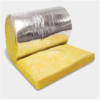 Glass wool with FSK Aluminum foil insulation for Heating ventilation and air conditioning system