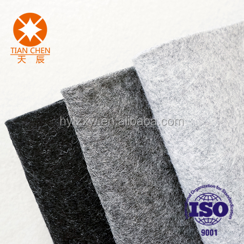 Waterproof trunk mat car interior carpet fast production polyester fabric