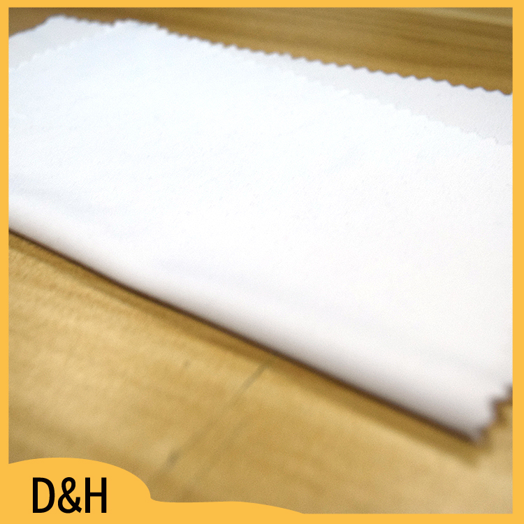 brushed polyester spandex fabric for table cloth chair cover