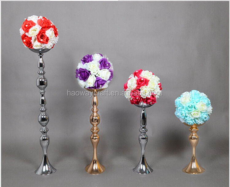 Decorative wedding centerpieces flower stand