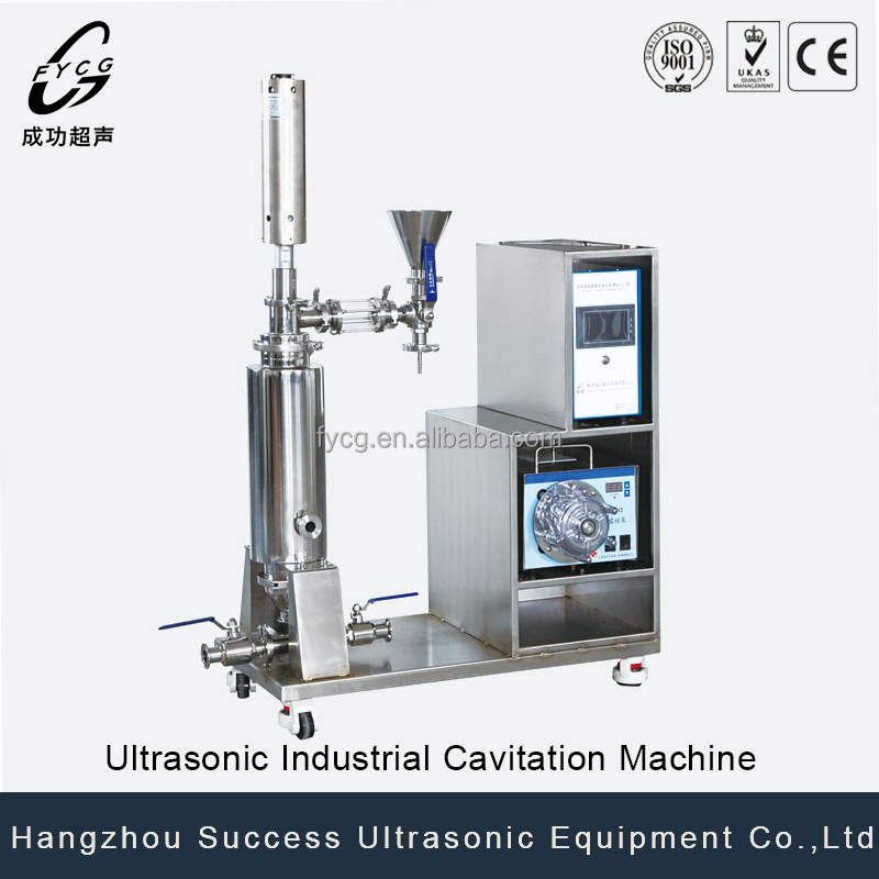 ultrasonic machine with ultrasonic cavitation for industrial oil emulsification, industrial herbal extraction equipment