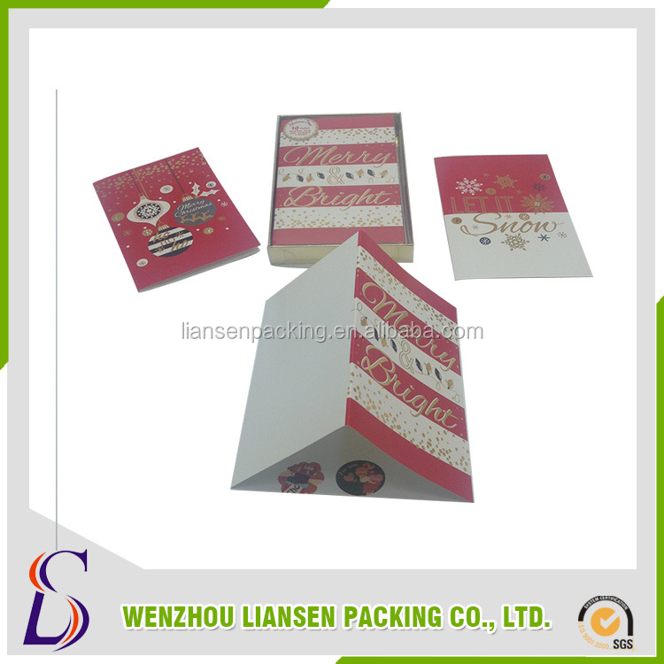 China supplier sales christmas cards handmade want to buy stuff from china