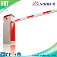 Parking lot automatic barrier gate remote control