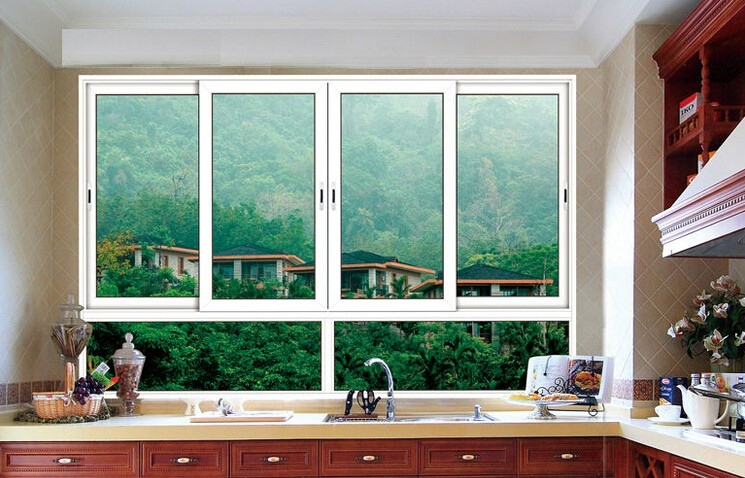 Factory wholesale aluminum sliding windows and doors price, sliding window design