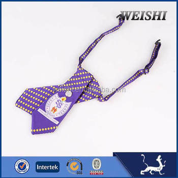2015 new design hot sale high quality custom embroidered bow tie