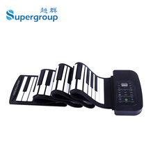 Portable 88 Keys Flexible Piano Roll Up Electronic Piano with Speaker