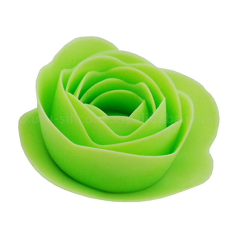 Handmade artificial silicone decoration flower making for home decoration