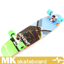 Bamboo with Fiberglass old school board,cruiser board skateboard, cruiser board supplier