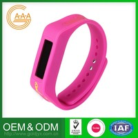 2016 Latest Oem Silicon Bracelet Wholesale Price Wholesale Smart Bracelet Sports Watch