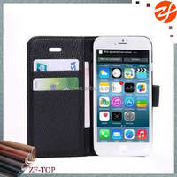 For HTC 8x wallet leather case, smart cell phone leather case for HTC 8x