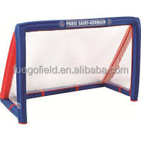 inflatable mini football goal/soccer goal/soccer keeper for kids