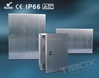 TIBOX high quality CE, RoHS, IP66 Stainless steel distribution panel box/electrical panel box IP66
