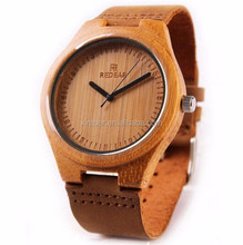 Wholesale high quality Japanese movement bamboo watch wood watch