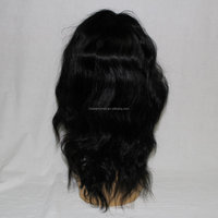 2016 stock virgin indian human hair front lace wig