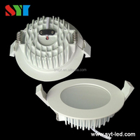 SMD/COB LED downlight dimmable recessed led downlight CW6000-7000K