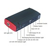 CE FCC ROHS UN38.3 emergency jump start battery booster