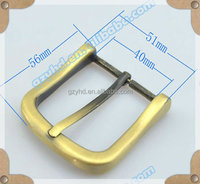 Bag metal parts factory,zinc alloy material pin belt buckle for handbag fitting