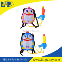 Lovely cartoon backpack water gun toy for fun