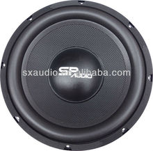 New designed Colorful 10inch Under Seat Car Subwoofer
