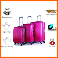 2016 plane metal frame boarding business luggage Made in China