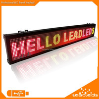 Free Shipping Multi Color Running Letters Led Small Price Display with Keyboard