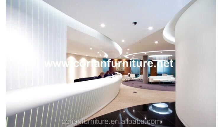 Modern office Interior design and matched furniture