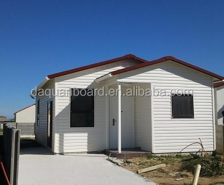Daquan China high insulation comfortable living prefab home with nice decorations