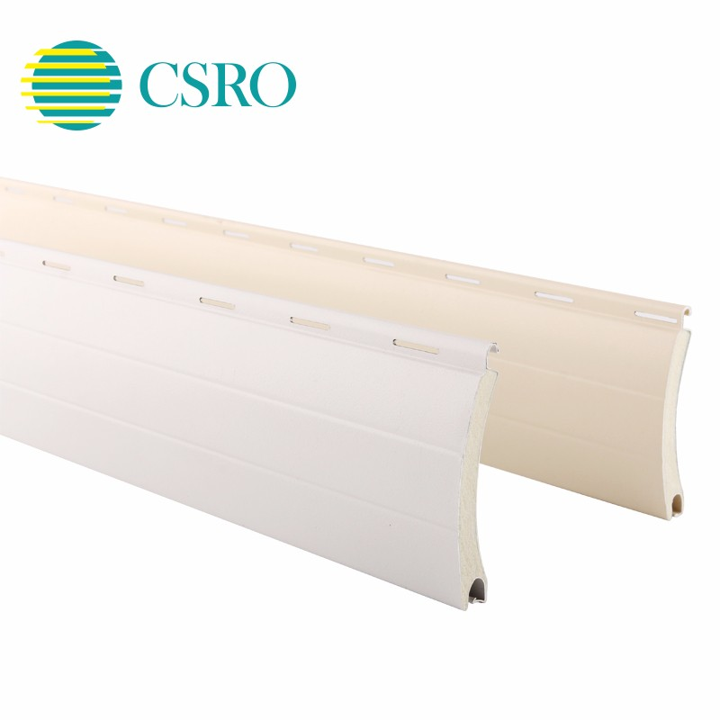 Aluminium auto electrical system roller shutter slat for insulation