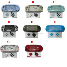17 Colors Available !!! 100% Fit Full Housing Shell Cover Case For PSP 2000 With Buttons Kit