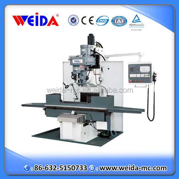 XKW7136B cheap cnc turret milling machine for sale