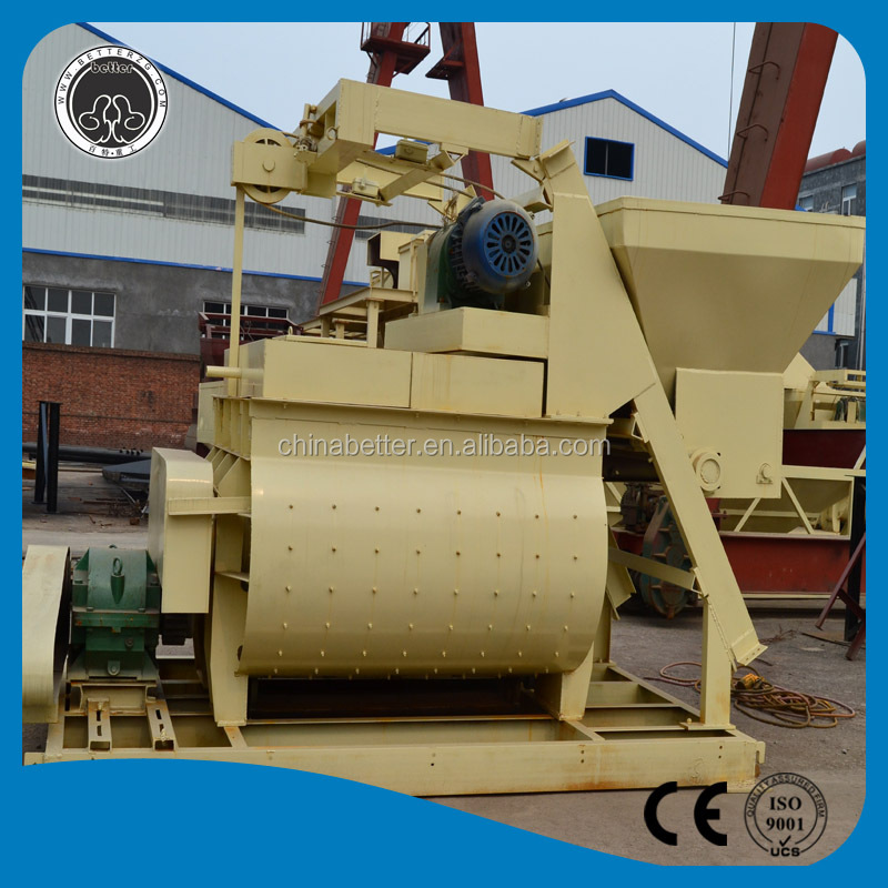 Low cost price ! Construction machine portable concrete mixer with hopper and pump