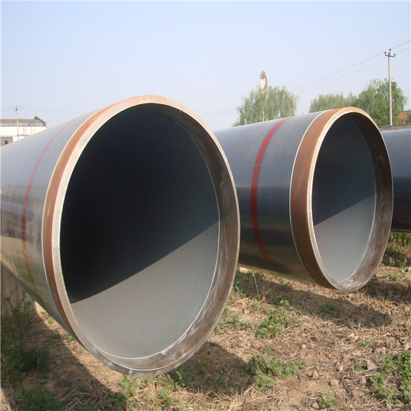 A & A Manufacturer 3PE 3PP FBE Black Varnished Coating Large Size Spiral Welded Steel Pipe Make in China