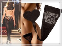 2015 hot sale mexico secret women Sexy low-waistline C T lace Hip & Buttock Push Up panties