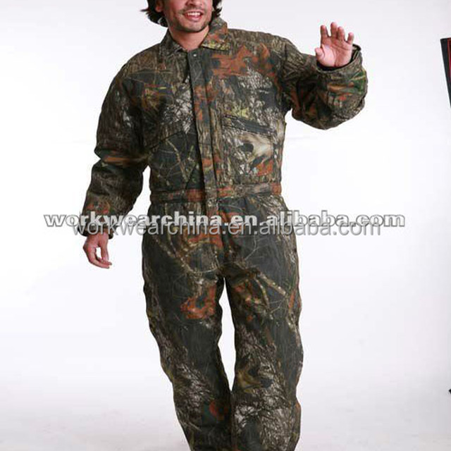 Camouflage coverall workwear