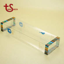 Stackable clear plastic storage toy packing box