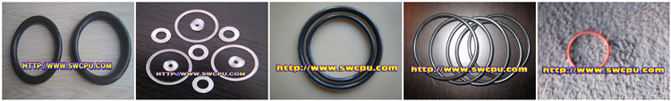 Colored silicone rubber high pressure water seal