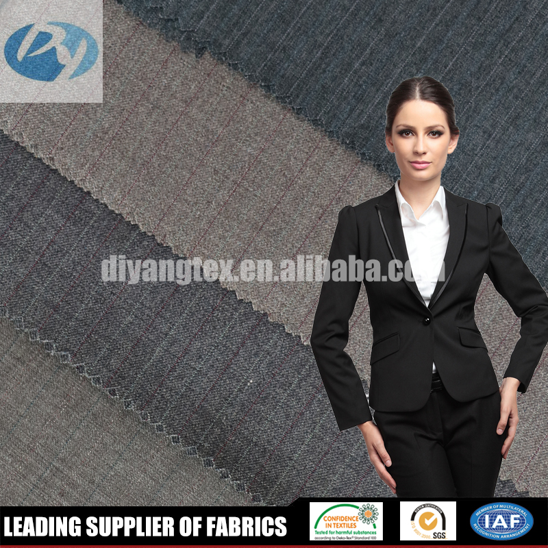 Factory wholesale shaoxing textile market tr suit workwear fabric