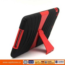 New and hot PC+Silicone protective cover for ipad mini customized design welcome