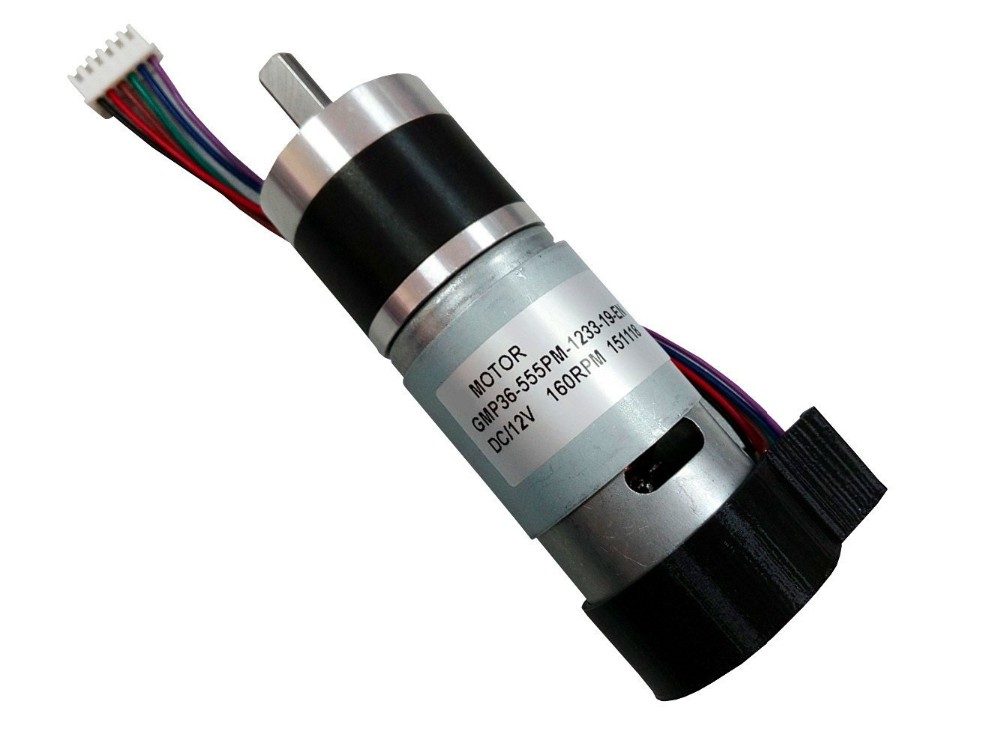 12v 24v Planetary Dc Gear Motor With Encoder Electric