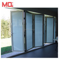 Custom aluminum profile accordion doors lowes glass for Canada