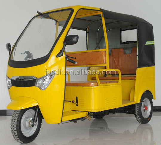 150CC Gasoline Tuk Tuk Three Wheeler