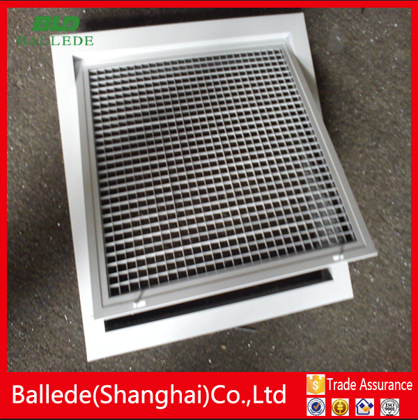 hvac system aluminium egg crate air grills