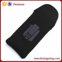 2015 new soft neoprene holster, neoprene holster with belt clip ,neoprene holster for blackberry z3 case