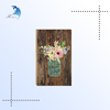 Custom made good quality decorative board wood wall art board for home use