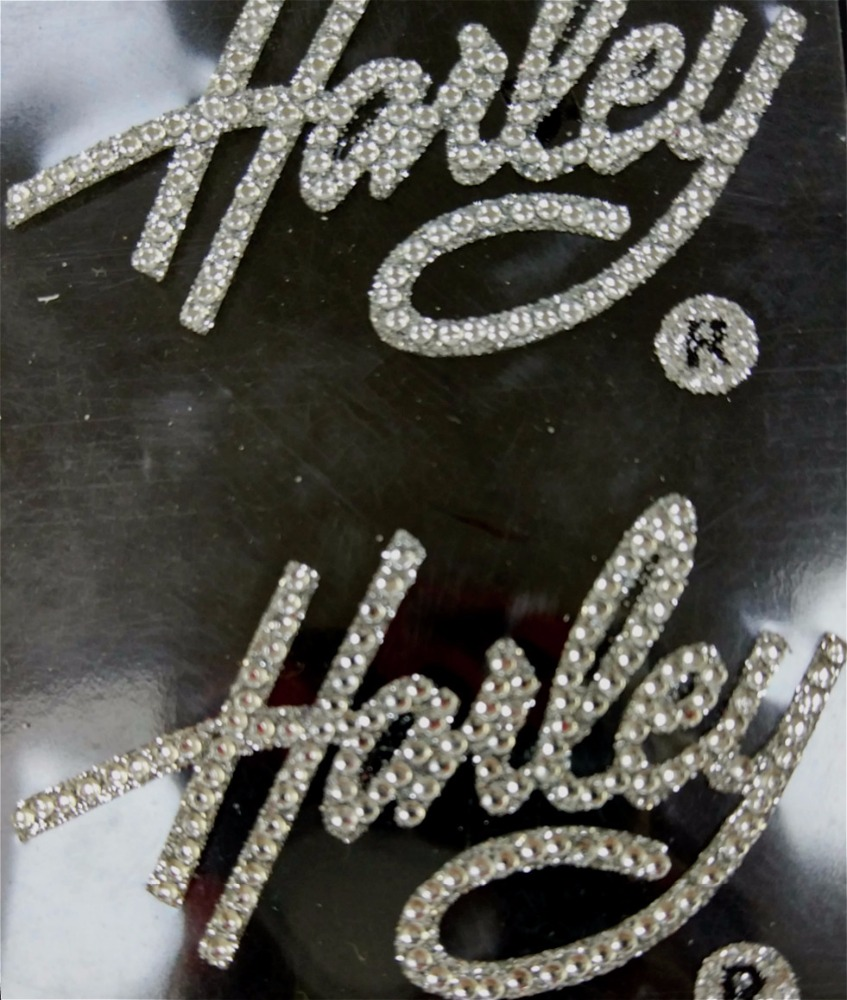 3D Fashion Diamond letters holiday sticker