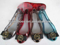 2013 Summer Beach Jelly Shoes Hot Sale Women Jelly Flat Sandals