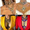 Dvacaman Statement Necklace Jewelry Low MOQ